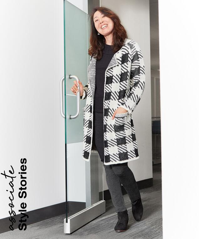 Associate Style Long Cardigan Look,