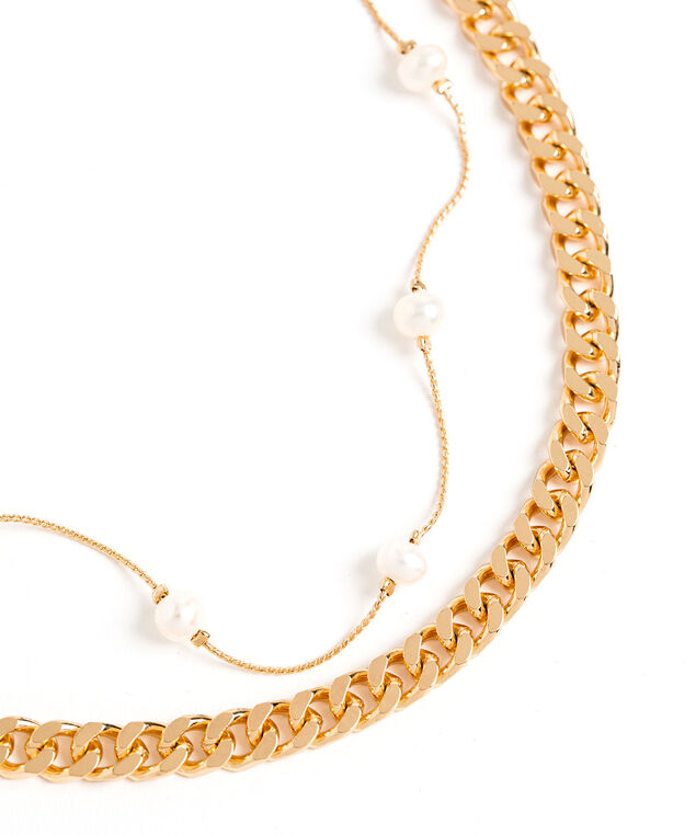 Convertible Multilayer Necklace, Gold