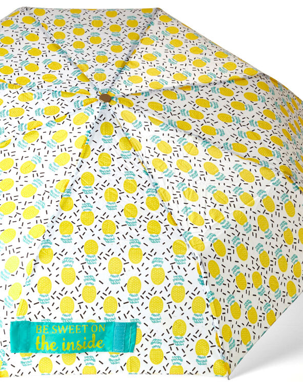 Yellow Pineapple Umbrella, Yellow, hi-res