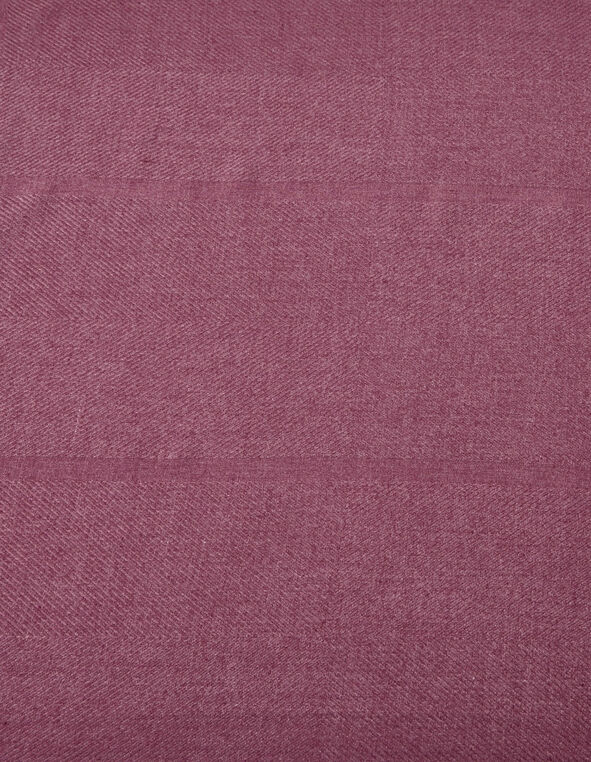 Plum Super Soft Oblong Scarf, Plum, hi-res