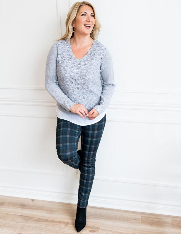 Plaid Legging Look, , hi-res