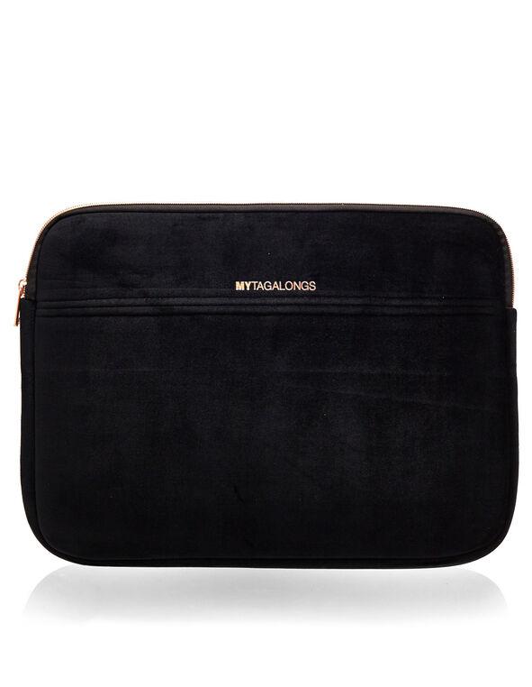 Classic Black Laptop Sleeve, Black, hi-res