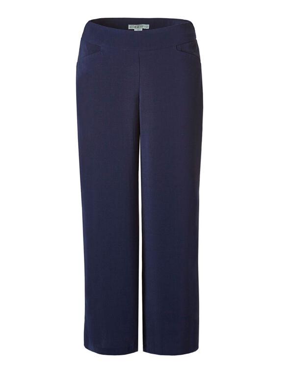 Navy Soft Wide Leg Pant, Navy, hi-res