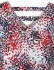 Printed Shark Bite Tunic, White/Navy/Red, hi-res