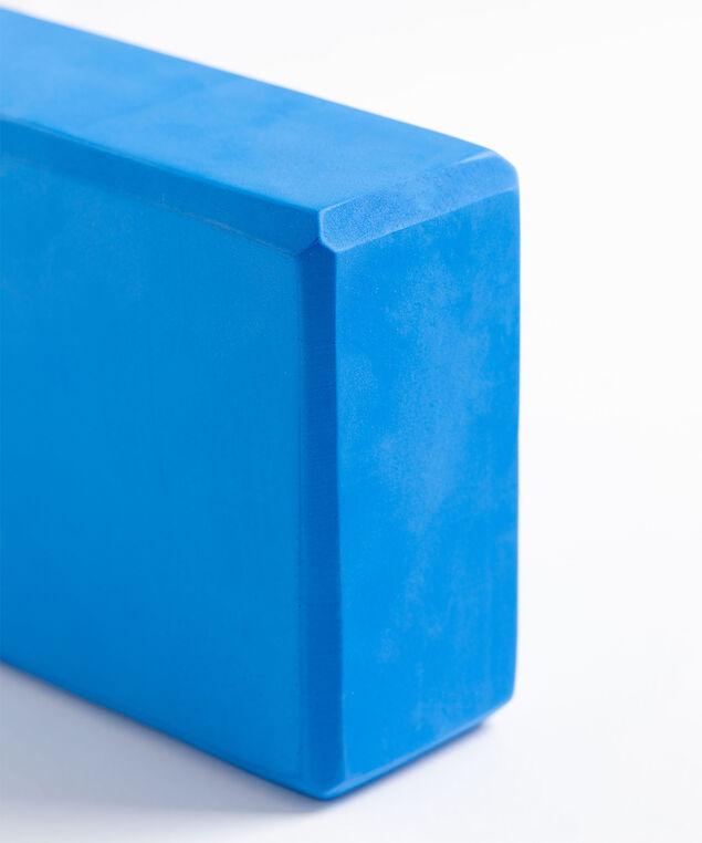 Coloured Yoga Block, Blue