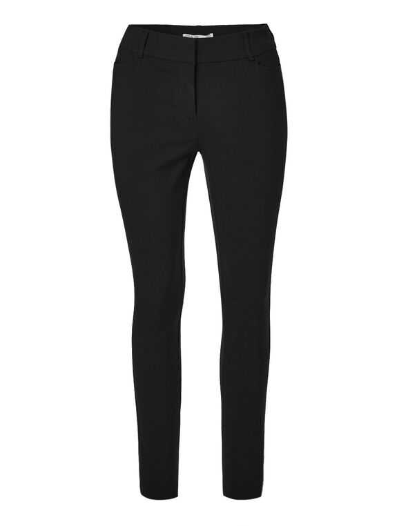 Black Signature Skinny Pant, Black, hi-res
