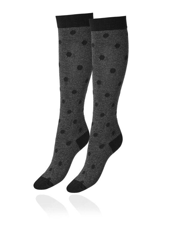 Grey Compression Socks, Grey, hi-res