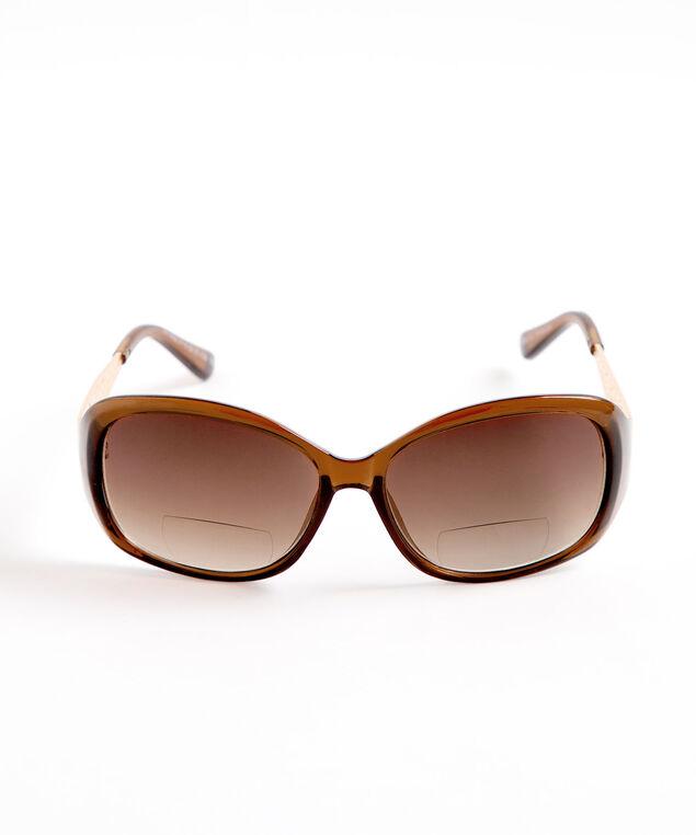 Brown Bi-Focal Sunglasses, Brown