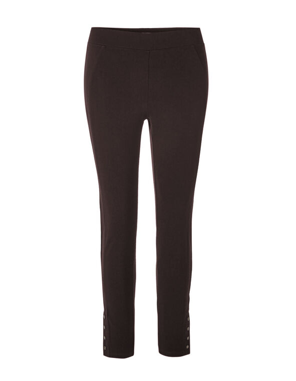 Brown Comfort Stretch Legging, Brown, hi-res