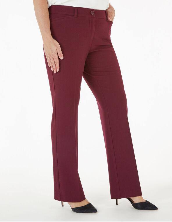 Merlot Trouser Pant, Wine, hi-res