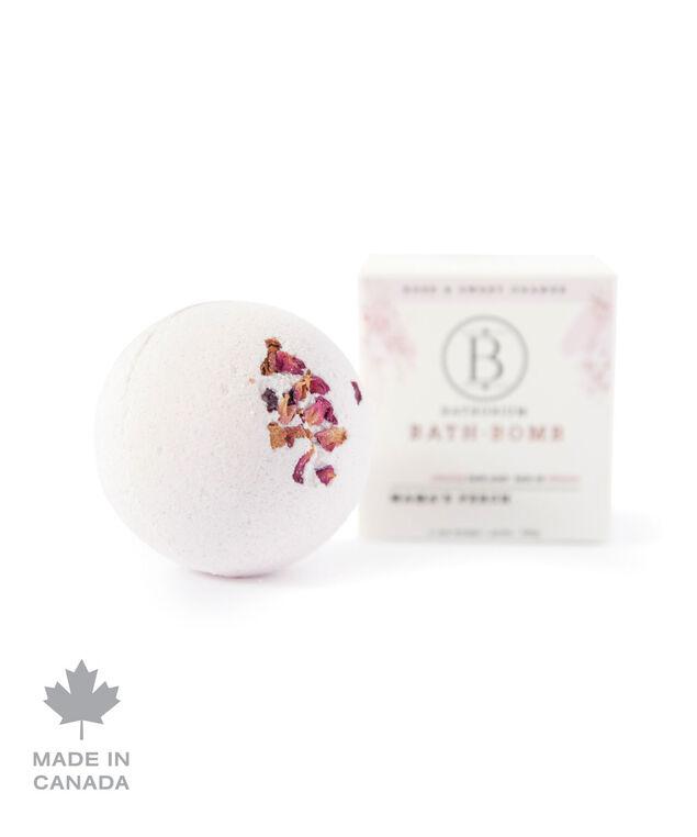 Mama's Perch Bath Bomb, White