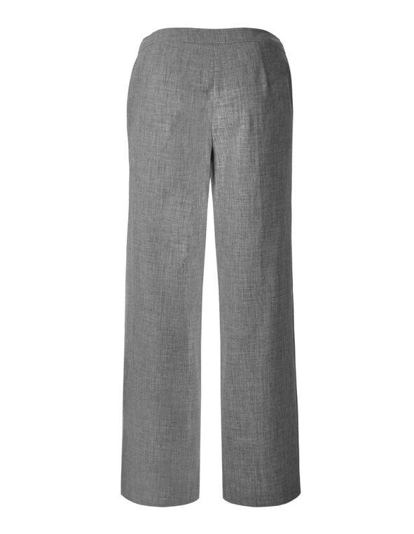 Grey Straight Leg Pant, Grey, hi-res