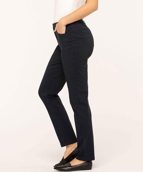 Navy Curvy 5-Pocket Slim Pant, Navy, hi-res