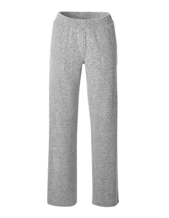 Grey Cozy Wide Leg Pant, Grey, hi-res