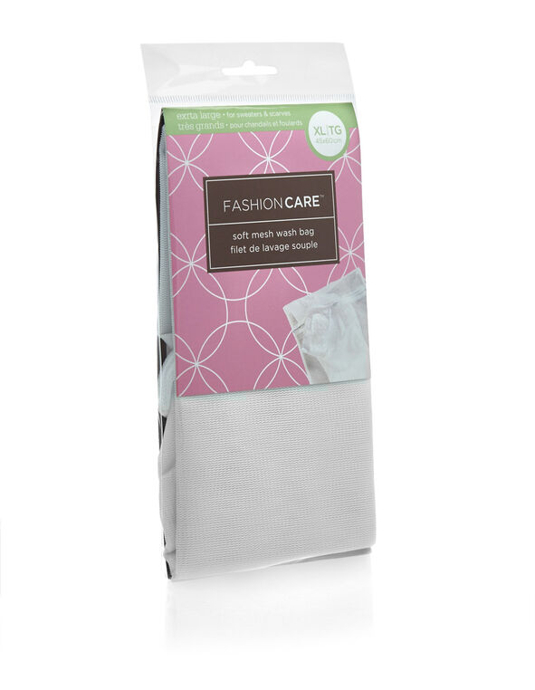 Fashion Care Mesh Washing Bag, White, hi-res