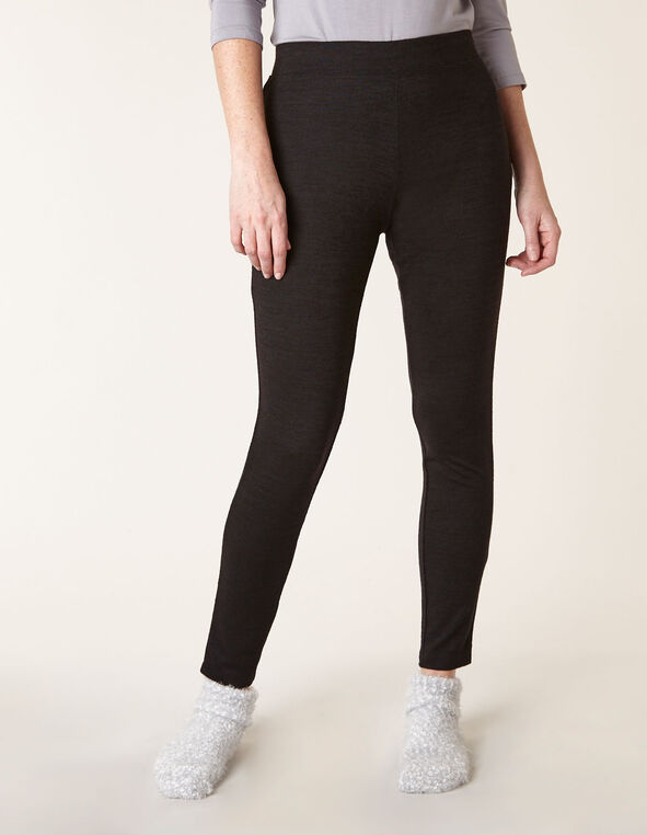 Black Hacchi Legging, Black, hi-res