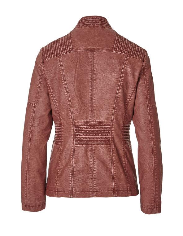 Chili Faux Leather Jacket, Chili, hi-res