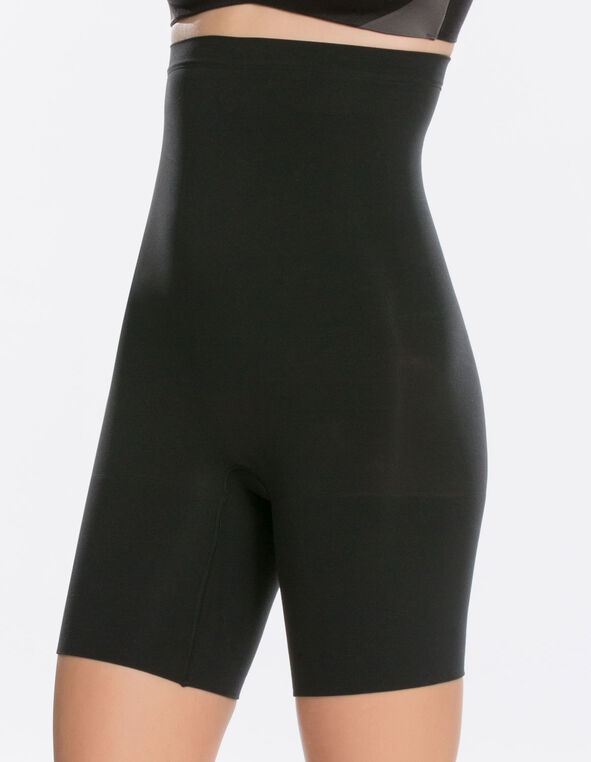 Black Spanx High Power Short, Black, hi-res