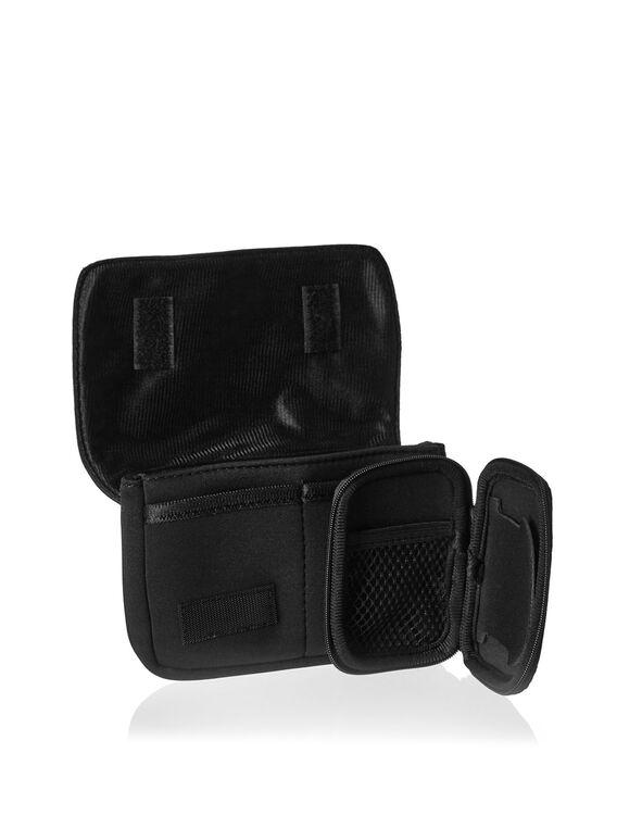 Black Charger & Ear Bud Case Set, Black, hi-res