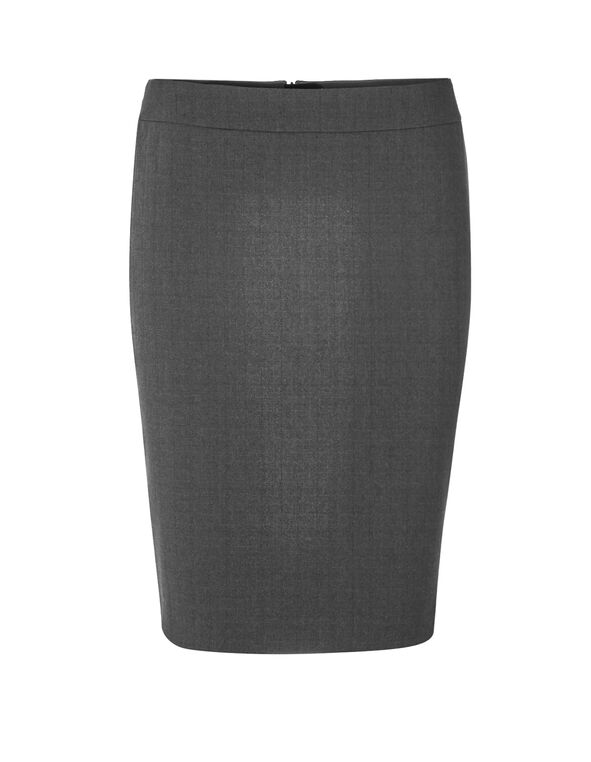 Charcoal Favourite Pencil Skirt, Charcoal, hi-res