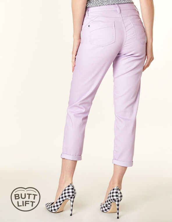 Orchid Butt Lift Slim Jean, Purple/Orchid, hi-res