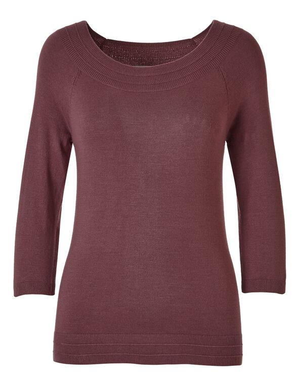 Rosebud Pullover Sweater, Rosebud, hi-res