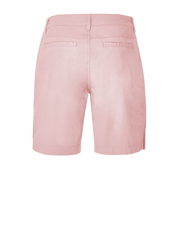 Pink Poplin Bermuda Short, Cotton Candy, hi-res