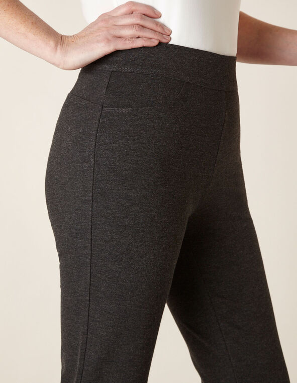 Charcoal Straight Leg Pant, Charcoal, hi-res
