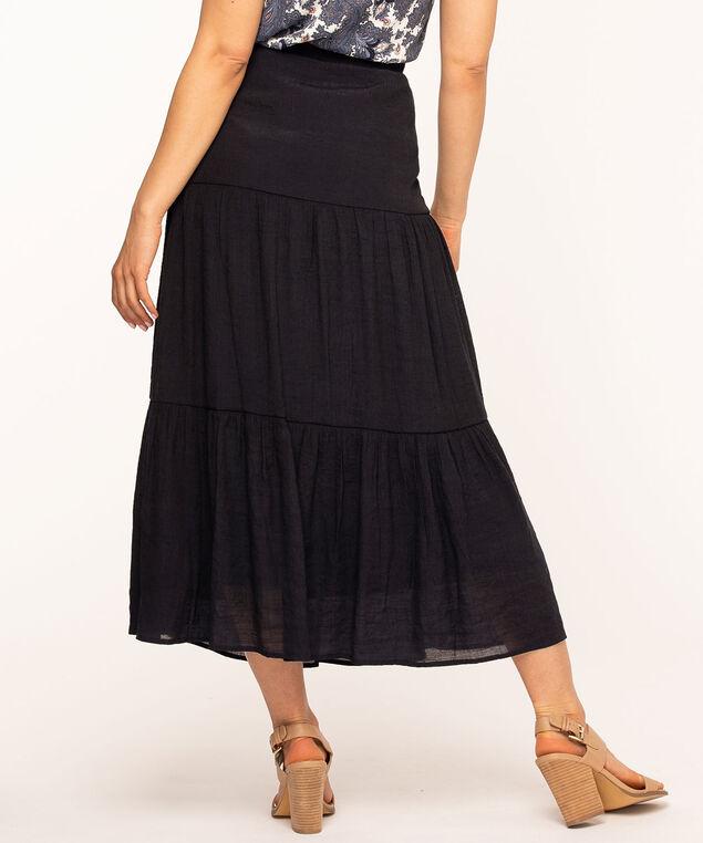 Navy Peasant Skirt, Navy