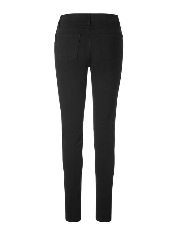 Black Slimming Jegging, Black, hi-res