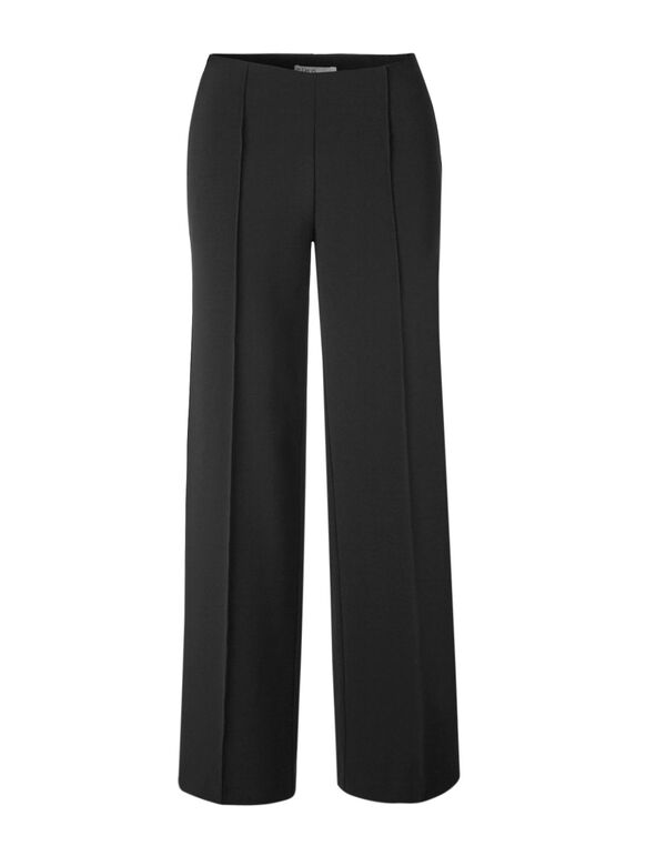 Black Wide Leg Pant, Black, hi-res