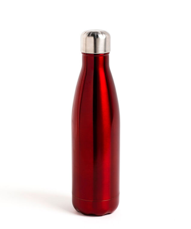 Insulated Water Bottle, Red