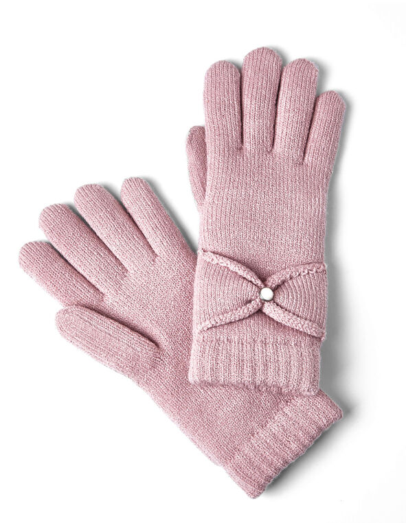 Pink Chenille Ultra Soft Glove, Pink, hi-res