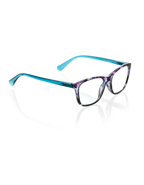Turquoise Ombre Reader, Turquoise/Purple, hi-res