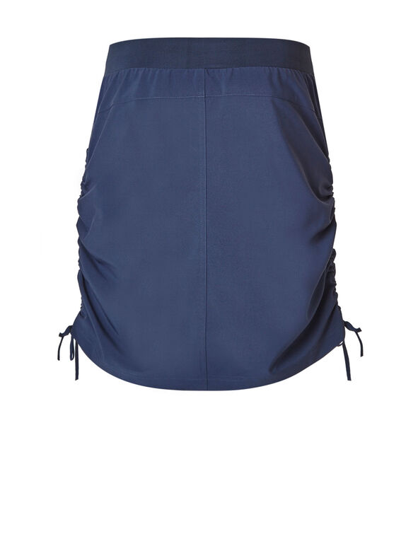 Navy On The Go Skort, Navy, hi-res