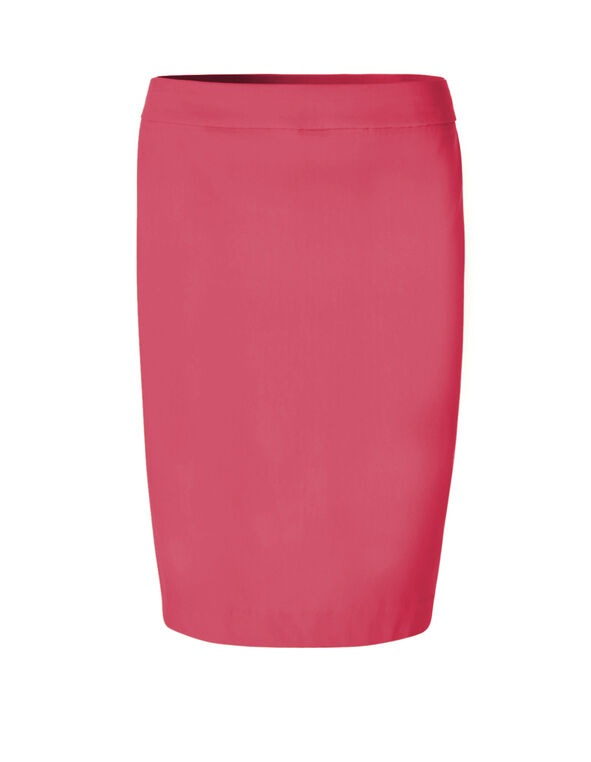 Tropical Rose Pencil Skirt, Rose, hi-res