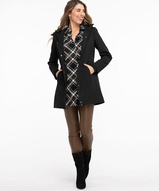 Urban Trail Softshell Coat, Black