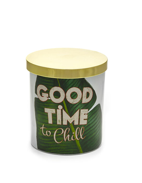 Good Time to Chill Candle, White, hi-res