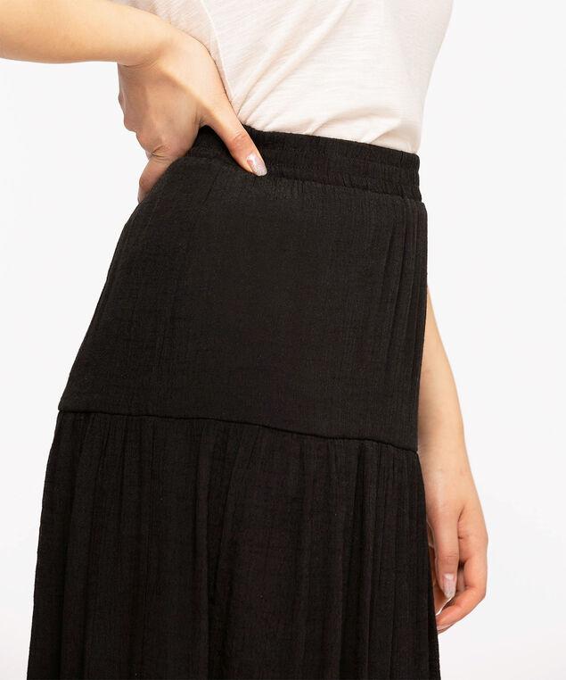 Black Peasant Skirt, Black