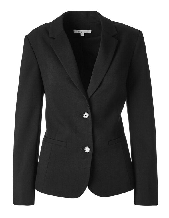 Black Favourite Blazer, Black, hi-res