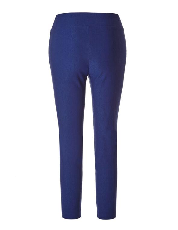 Ink Blue Pull-On Ankle Pant, Ink Blue, hi-res