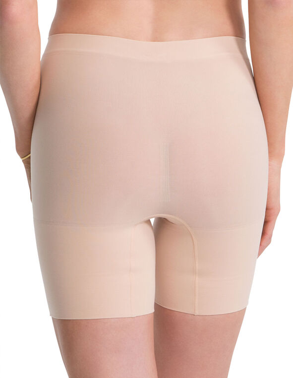 Nude Spandex Power Short, Nude, hi-res