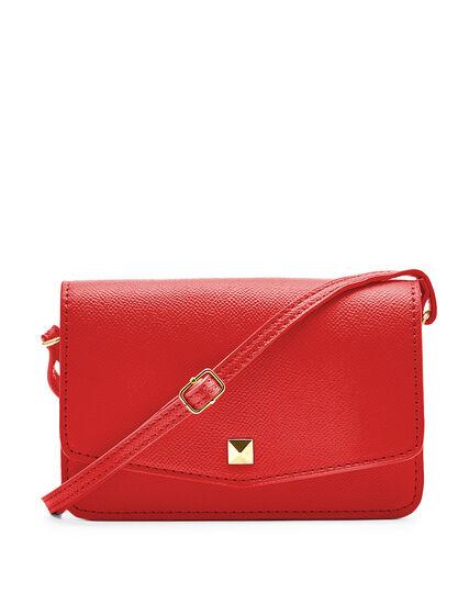 Red Phone Case Crossbody Bag, Red, hi-res