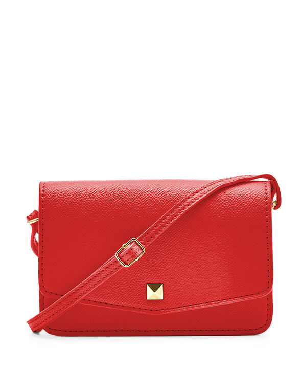 Red Phone Case Crossbody Bag, Red, hi-res