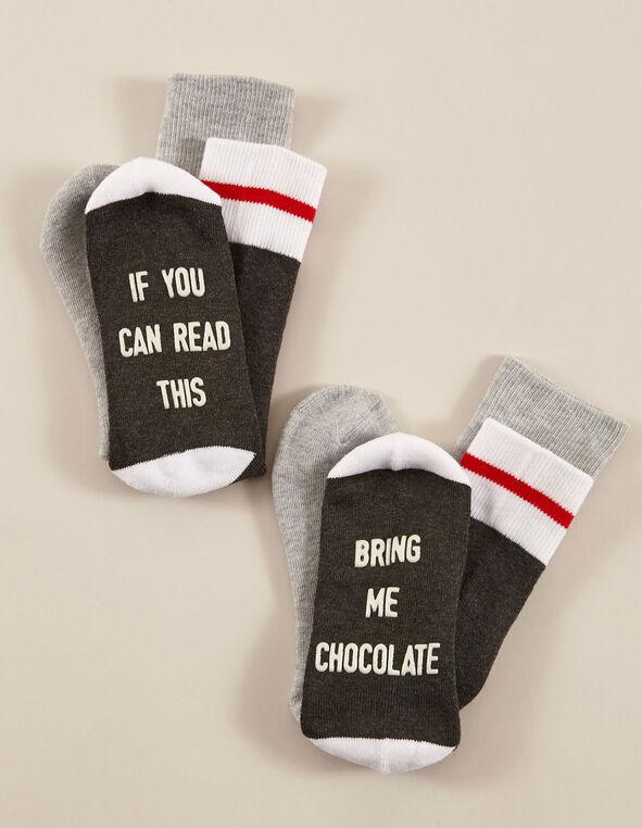 Grey Sock Pack, Grey, hi-res