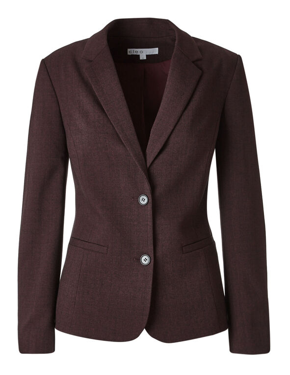 Brick Favourite Blazer, Brick, hi-res