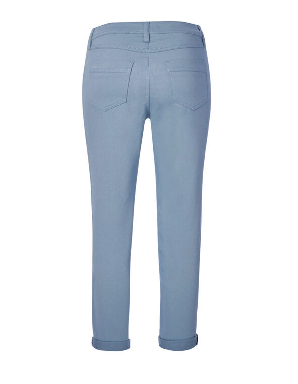 Blue Slim Ankle Jean, Blue, hi-res