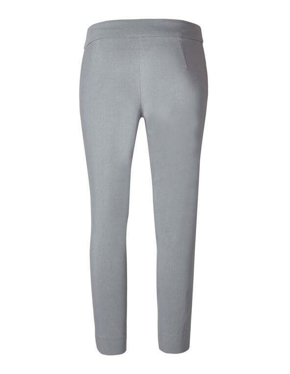 Grey Ankle Pull On Pant, Light Grey, hi-res