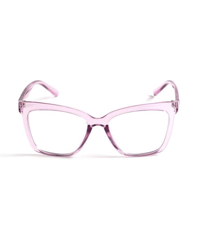 Mid Size Blue Light Reader Glasses, Lavender
