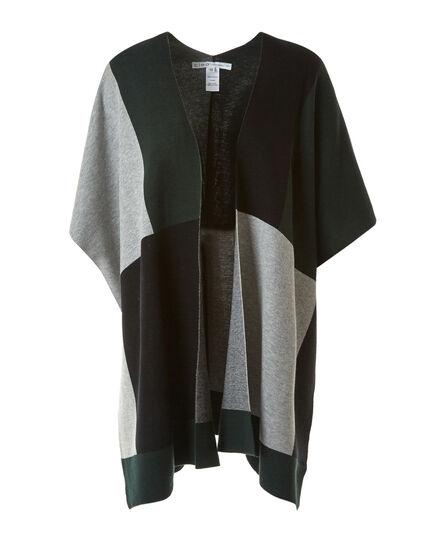 Spruce Flat Knit Cardigan, Green, hi-res